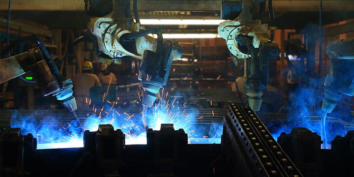 Produktionswerkstätte für Antriebstechnik