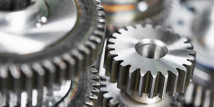 Antriebstechnik - Zahnräder aus Stahl