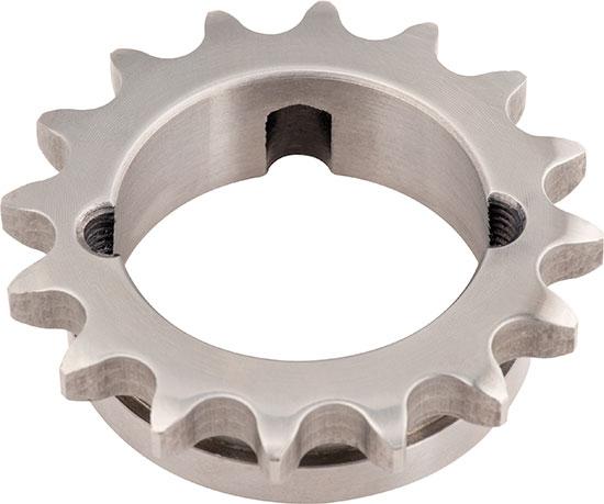 Kettenrad Stahl C45 - Simplex - für Klemmbuchse