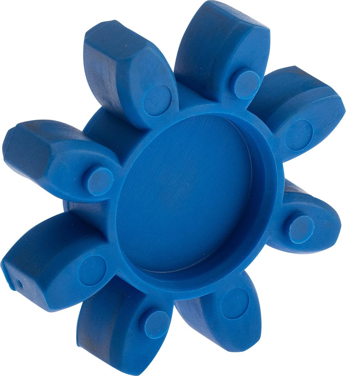 Elastomerzahnkranz spielfrei Shorehärte 80° A - blau